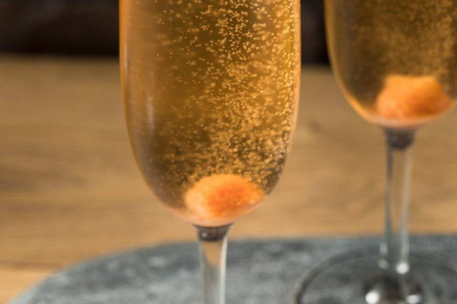 Boozy Refreshing Champagne Cocktail