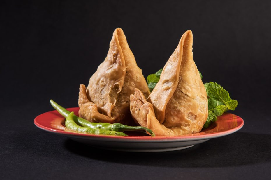 Veg Samosa – is a crispy and spicy Indian triangle shape snack